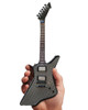 "Axe Heaven James Hetfield ""Diamond Plate"" Miniature Guitar Replica Collectible"