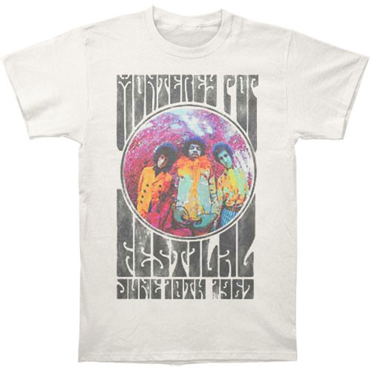 "L Fender Jimi Hendrix /""Monterey/"" T-Shirt"