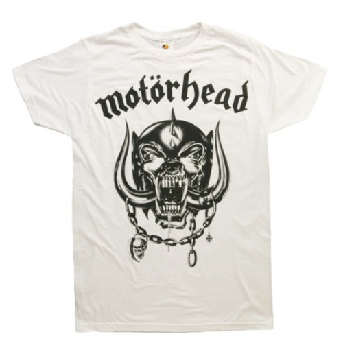 MOTORHEAD FLAT WAR PIG (White) T SHIRT