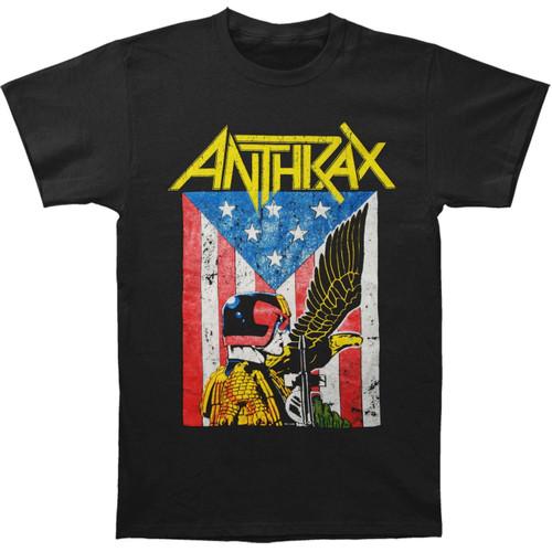 ANTHRAX Judge Dredd T Shirt