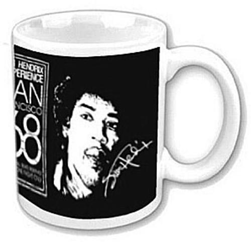 Mug JIMI HENDRIX (SAN FRANCISCO 68)