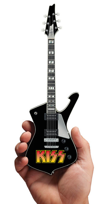 Iconic Concepts KISS Paul Stanley KISS Logo Mini Guitar