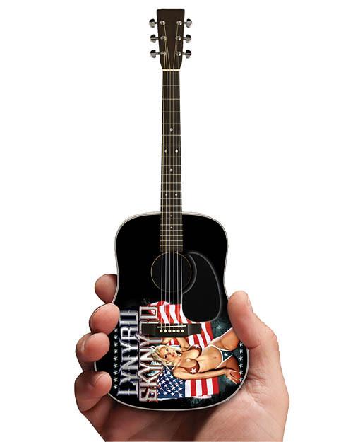 Iconic Concepts Lynyrd Skynyrd Acoustic Guitar w/ Skynyrd Logo Mini Guitar