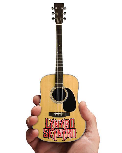 Axe Heaven Lynyrd Skynyrd  Acoustic Mini Guitar With Logo
