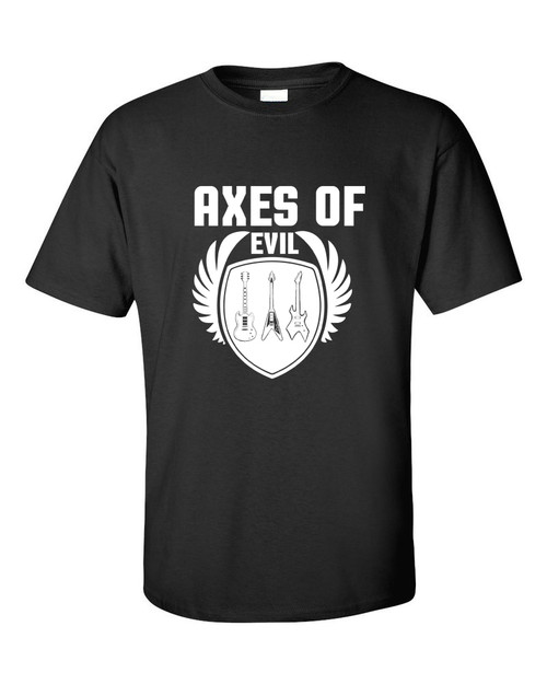 guitar t shirts, Axes of Evil Guitar T-shirt
