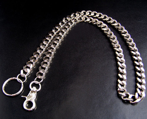 Belt Waist S.S. Chain Male Pants Rock Fashion Wallet Chain