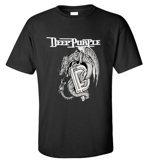 DEEP PURPLE CLASSIC DRAGON T SHIRT