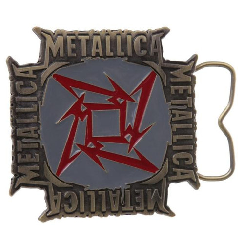 Belt Buckle METALLICA (SQUARE) Belt Buckle