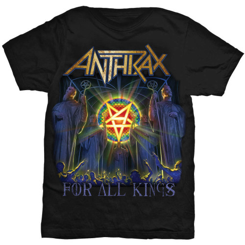 Anthrax FOR ALL KINGS COVER T Shirt