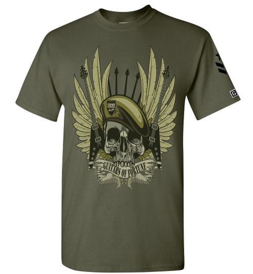 G.A.A. Members Exclusive Guitars of Fortune Guitar T Shirt, guitar t shirt