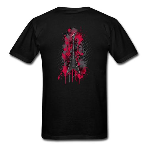 guitar t shirt, G.A.A. Members Exclusive Youth Guitar t-shirt V Guitar Graffiti