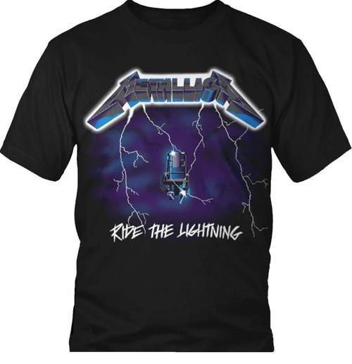 Metallica Ride the Lightning T-Shirt
