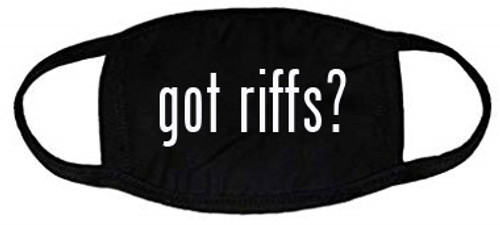".GAA Apparel ""GOT RIFFS"" 2ply Mask"