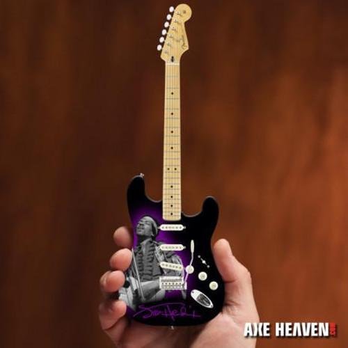 Axe Heaven Officially Licensed Jimi Hendrix Mini Fender™ Strat™ Tribute Guitar