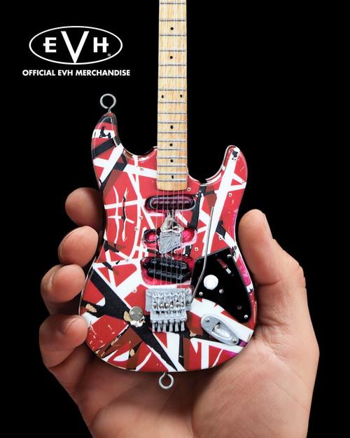 "EVH ""Frankenstein"" Eddie Van Halen Mini Guitar Replica Collectible"