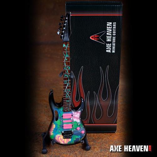 Axe Heaven Steve Vai Signature Lotus Flower JEM Miniature Guitar