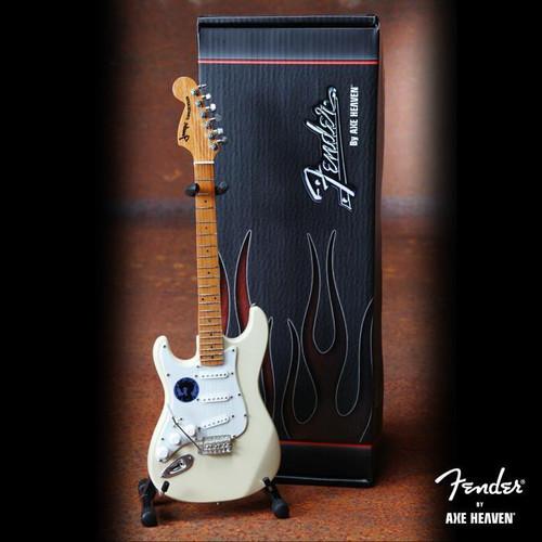 Axe Heaven Jimi Hendrix Woodstock Fender™ Strat™ Cream Reverse Headstock Mini Guitar