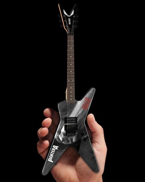 Axe Heaven Dean Dimebag Pantera Vulgar Display of Power ML Miniature Guitar - ARTIST PROOF EDITION