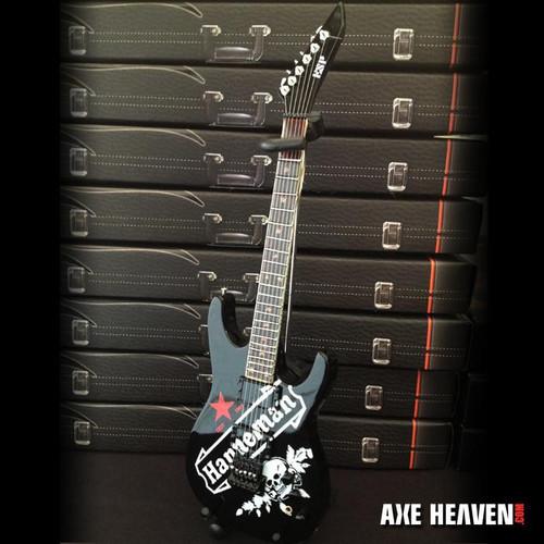 Axe Heaven Jeff Hanneman Red Star SEIT Tribute Mini Guitar Replica Collectible