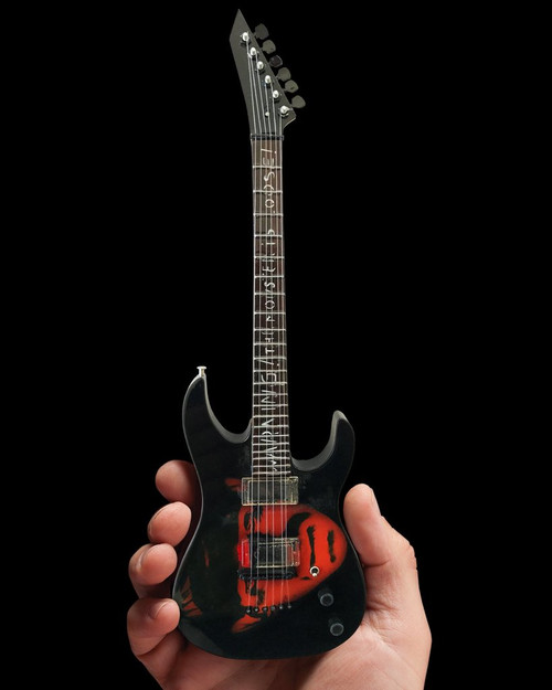 "Axe Heaven Kirk Hammett ""Frankenstein"" Miniature Guitar Replica Collectible (kh-303)"