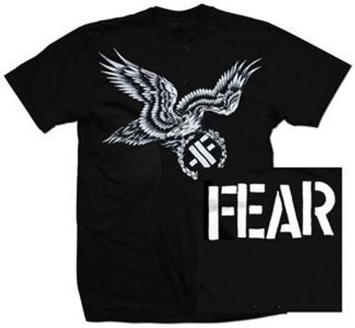 FEAR EAGLE  LOGO T SHIRT