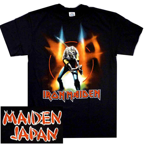 IRON MAIDEN  MAIDEN JAPAN SAMURAI T SHIRT