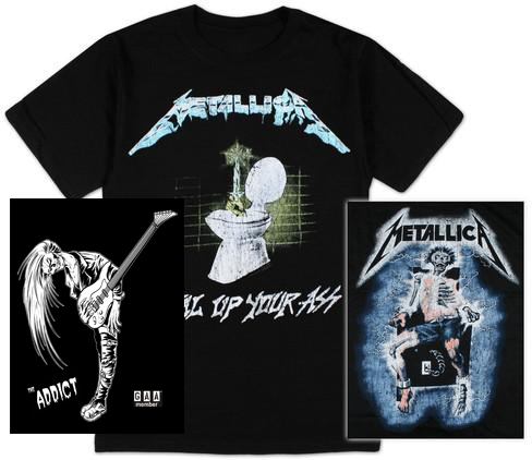 Our Top Selling Guitar Shirts & Concert Shirts So Far This Year.