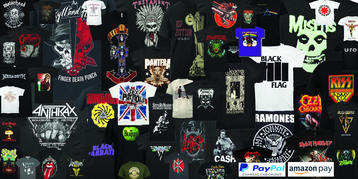 Rock Bands & Concert Shirts