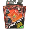 Minecraft Netherrack Series 3: SQUID, ALEX & BLACK SHEEP Mini-Figure 3-Pack