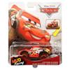 Disney Pixar Cars: XRS Mud Racing LIGHTNING McQUEEN 1:55 Scale Die-Cast Vehicle in packaging.