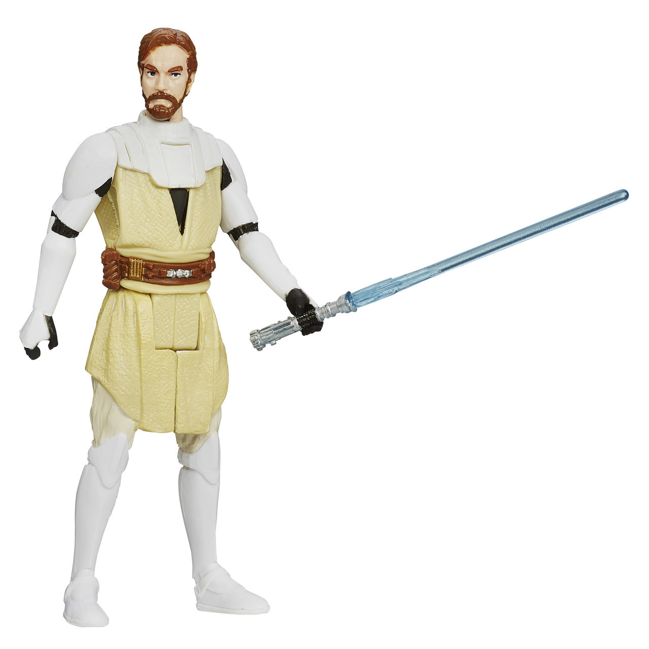 "2013 Hasbro Star Wars Saga Legends ROTS 3.75/"" Obi-Wan Kenobi Figure Complete"
