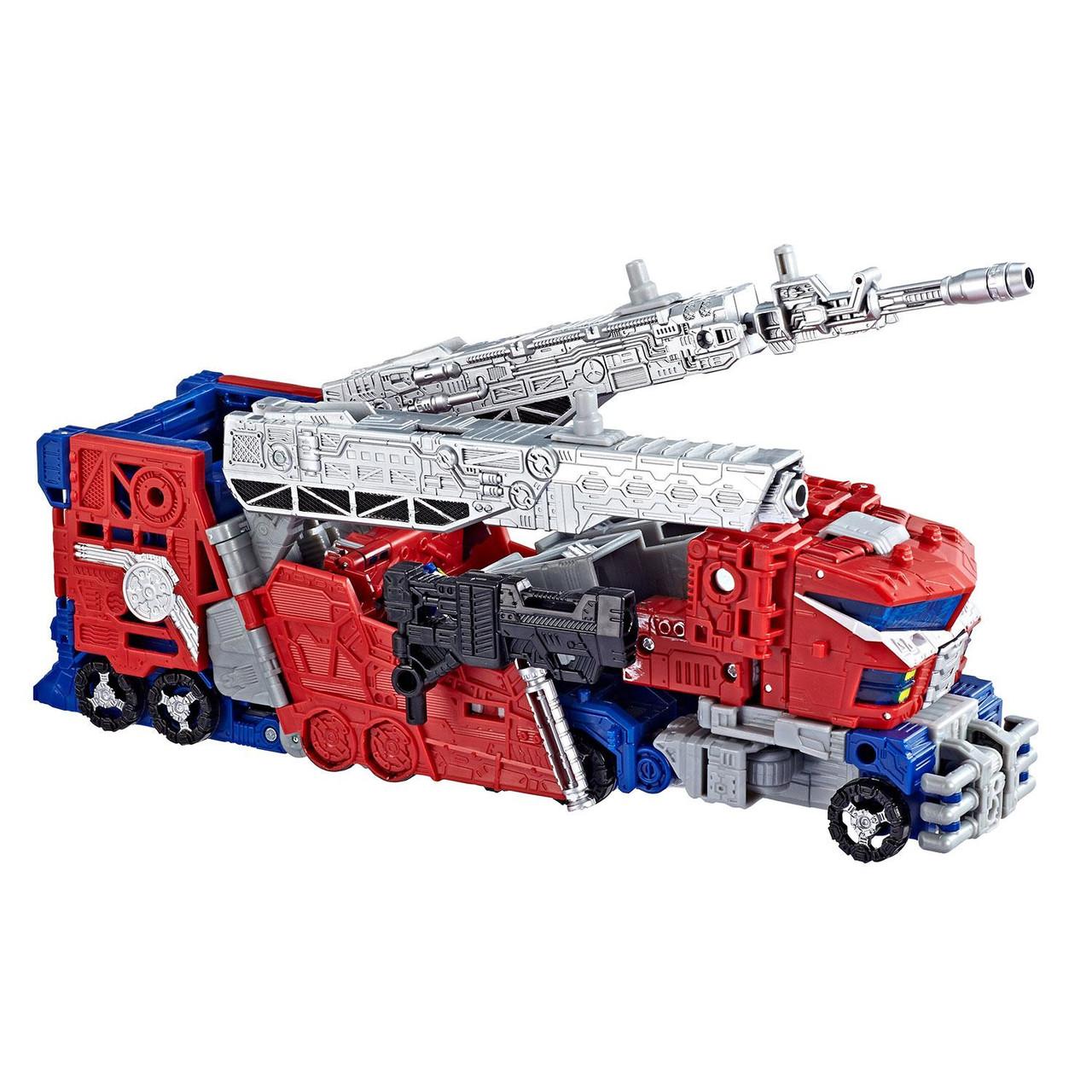 Transformers War for Cybertron Siege Leader Class WFC-S40 Galaxy Optimus Prime