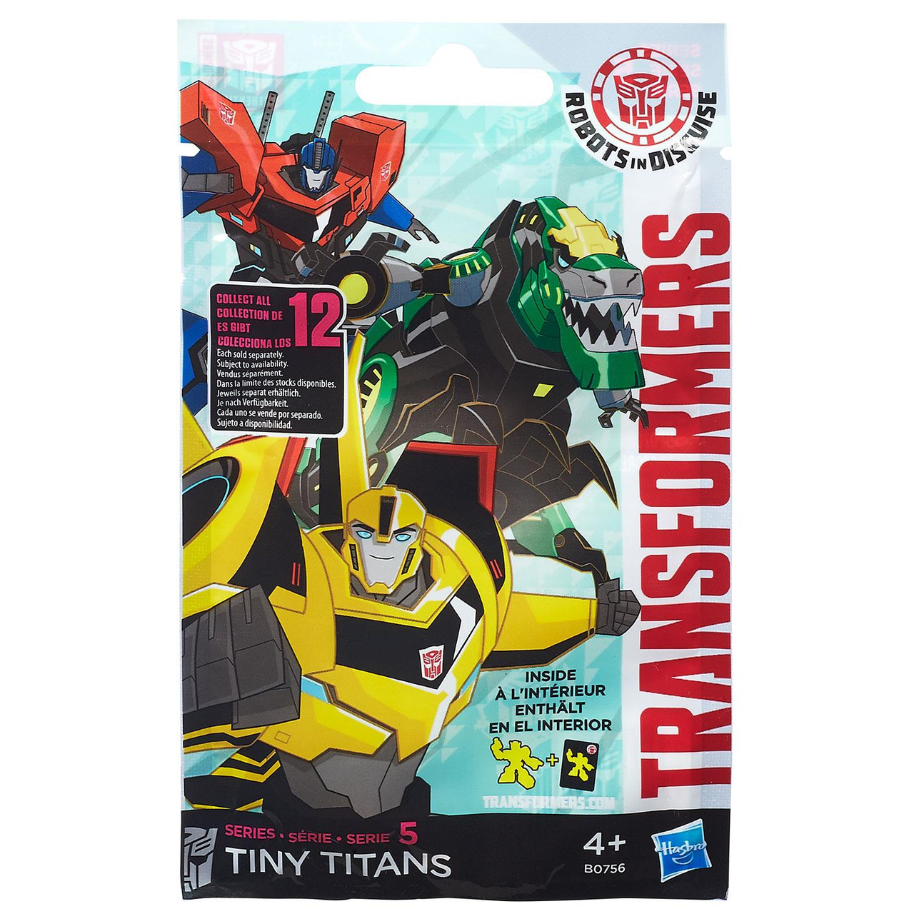 Transformers Tiny Titans Series 5 Robots in Disguise 6//12 Strongarm