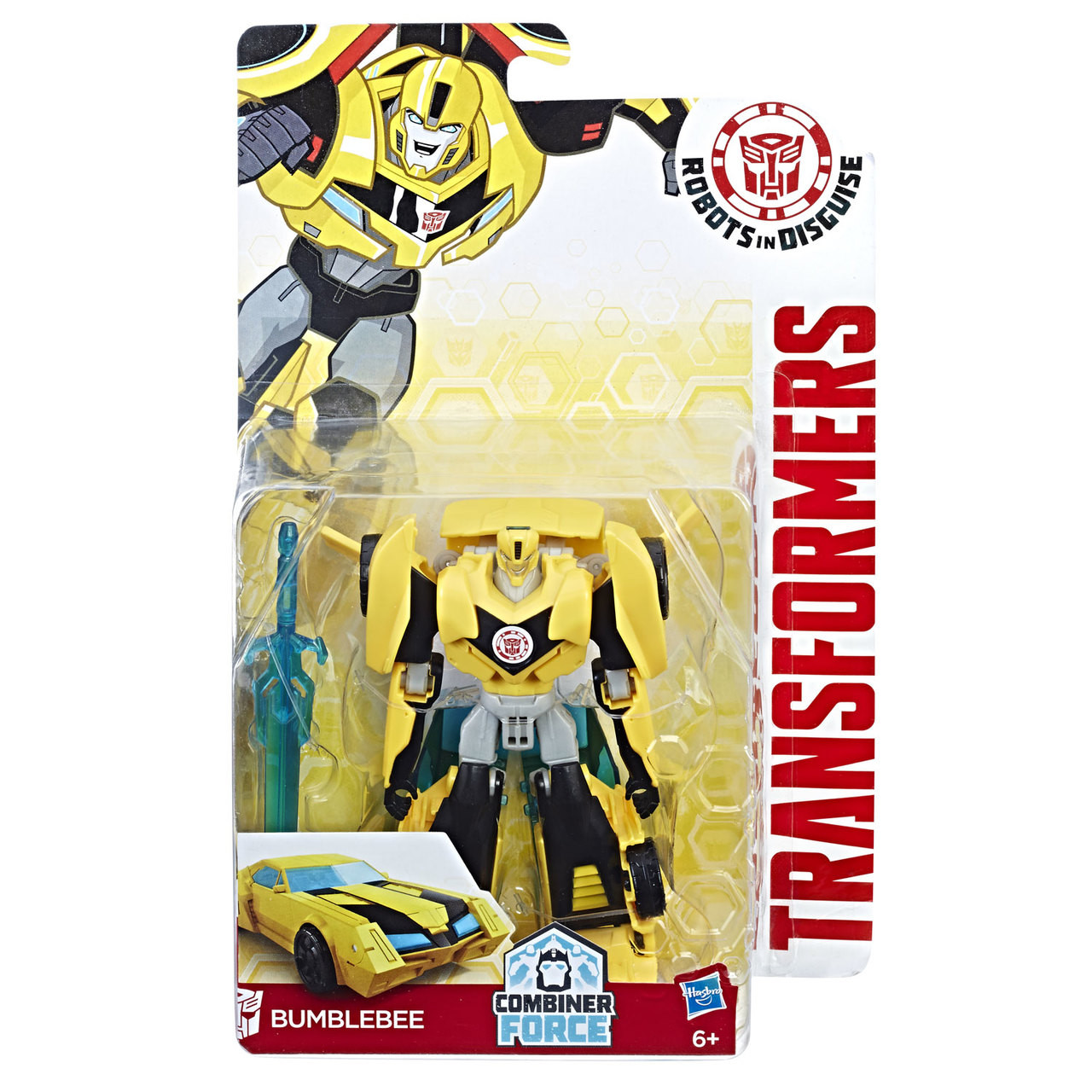 Transformers Robots In Disguise toys Bumblebee Warrior Class Hasbro