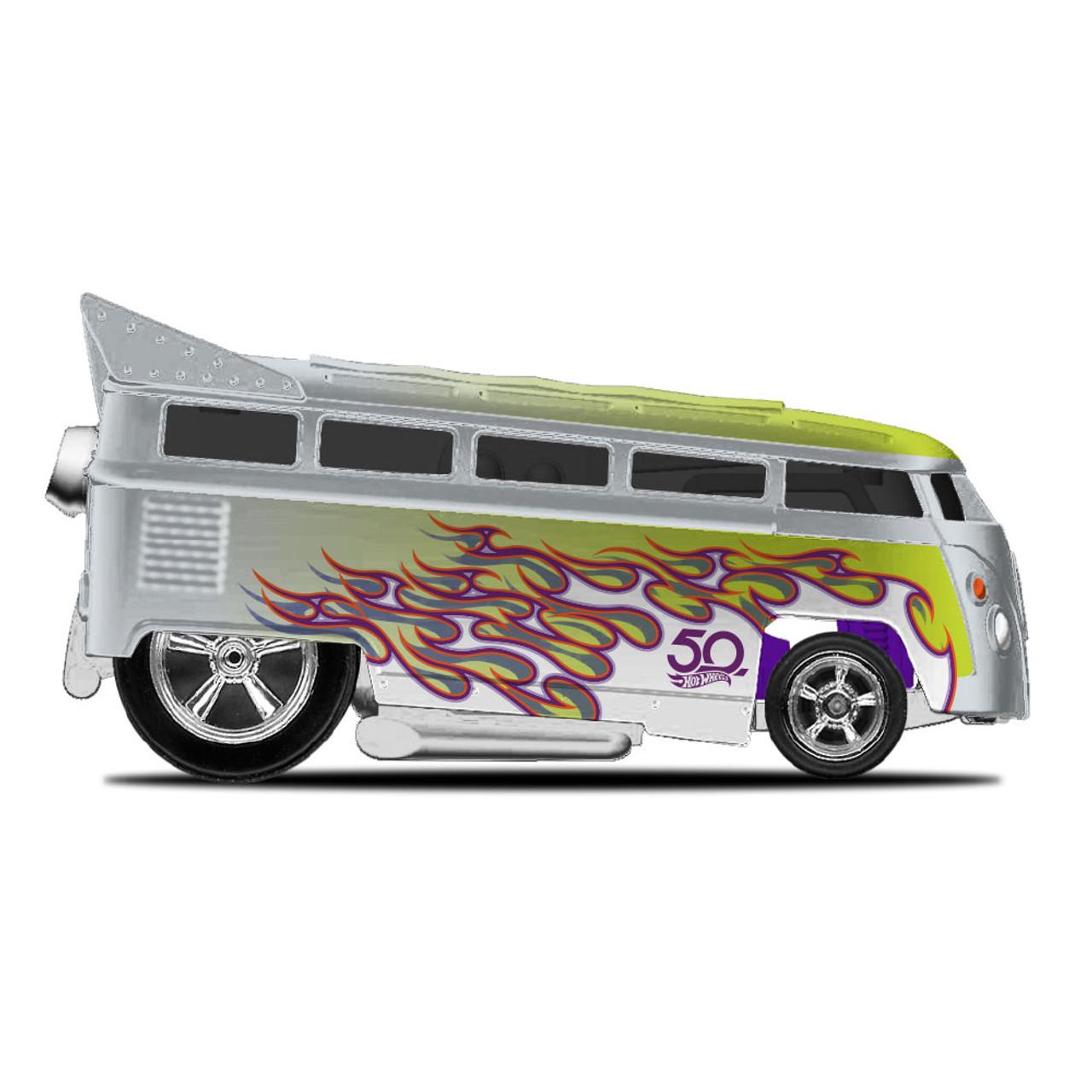 Hot Wheels 50th anniversary Favorites Real Riders VW T1 Drag Bus 1:64 Hot Wheels