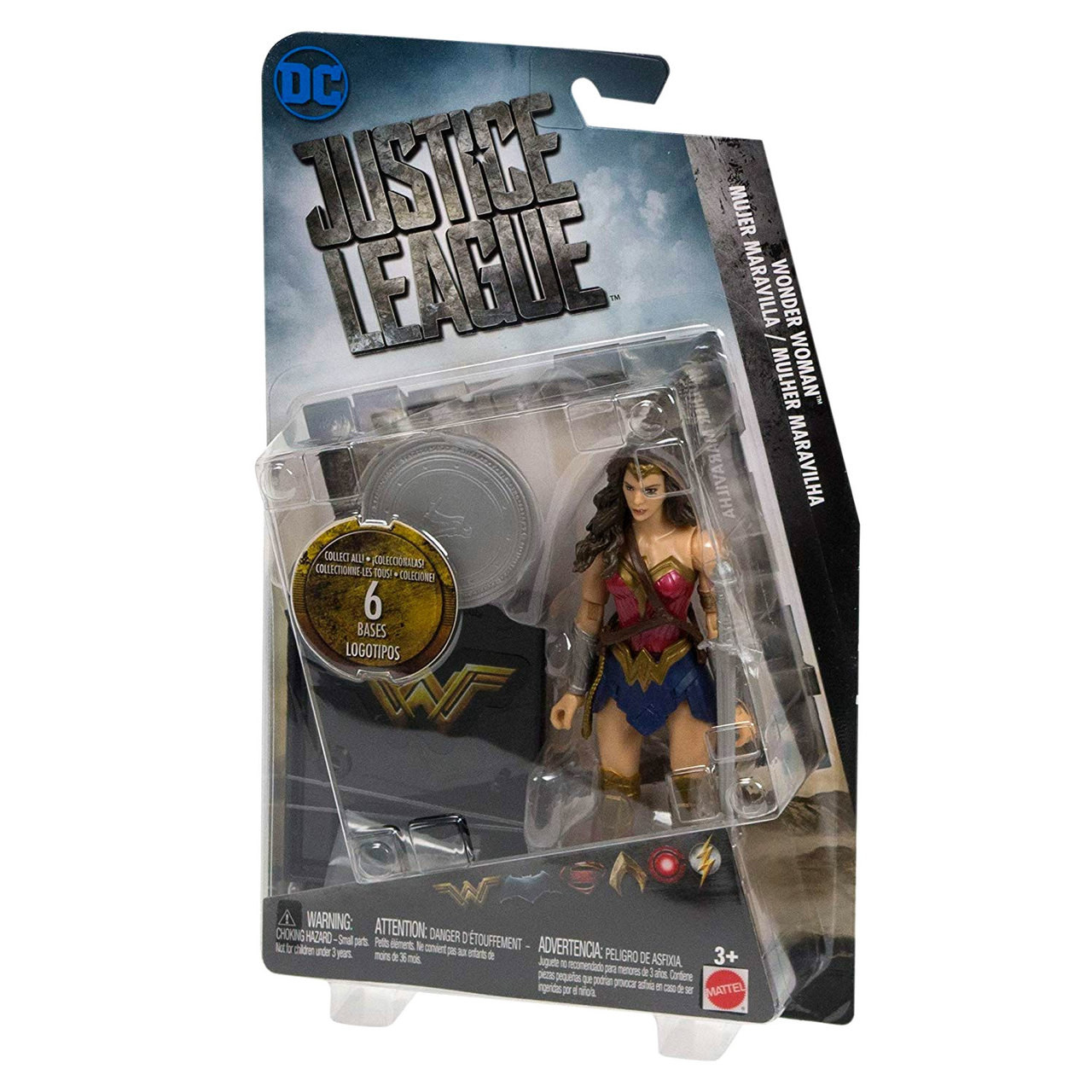 """DC Justice League Wonder Woman Fig Dollure 6/"""" Action Toy Fast Shipping"""