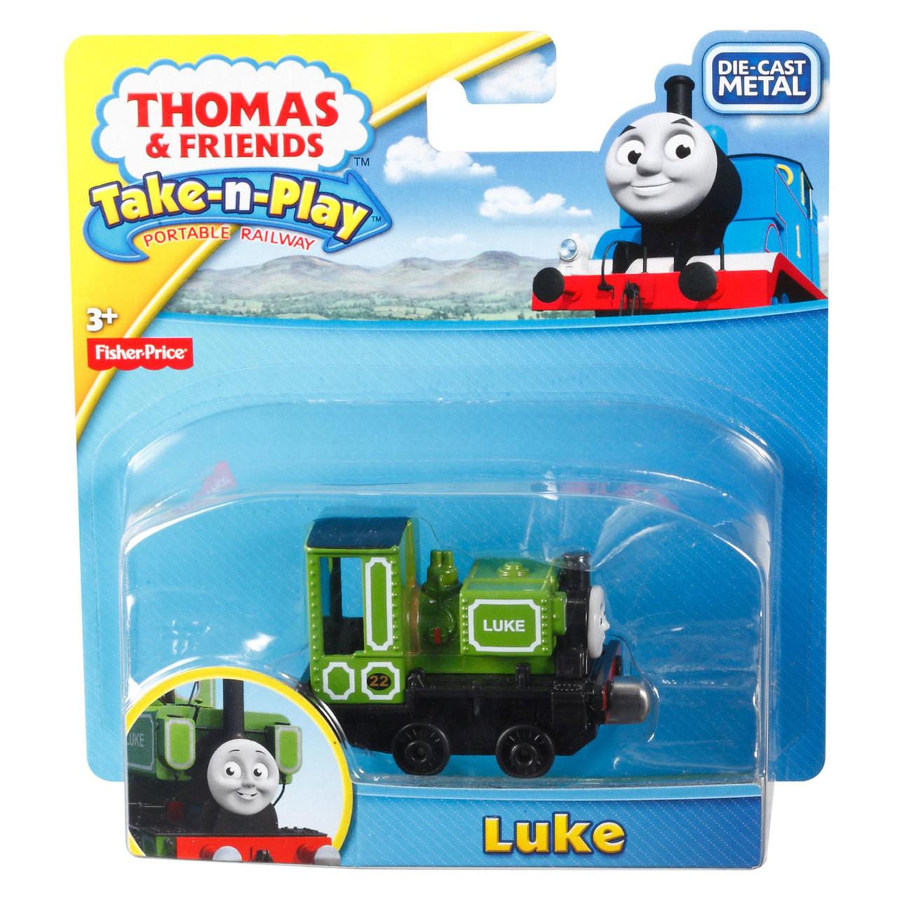 Thomas /& Friends Racing Raul Take-n-Play Portable Railway Die-Cast Metal New