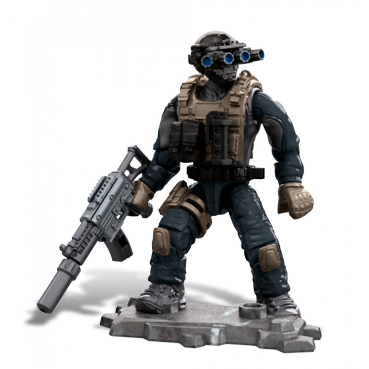 Mega Construx Call Of Duty Specialists Series 3 Keegan P Russ Figure Bubble N Squeak Toys