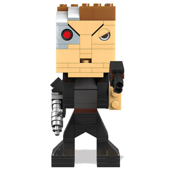 Mega Bloks Kubros Terminator Genisys T-800 GUARDIAN Buildable Collectors Figure