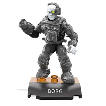 Mega Construx Heroes Series 1: Star Trek The Next Generation BORG DRONE Buildable Figure