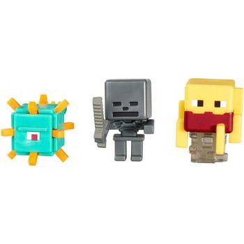 Minecraft Netherrack Series 3: BLAZE, WITHER SKELETON & GUARDIAN Mini-Figure 3-Pack