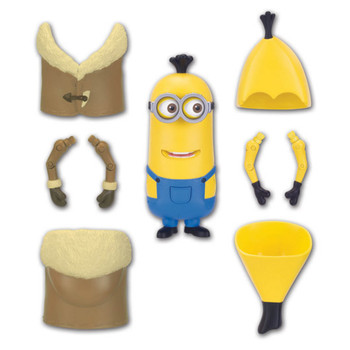 Minions Build-A-Minion ARCTIC / BANANA KEVIN Poseable Deluxe Action Figure