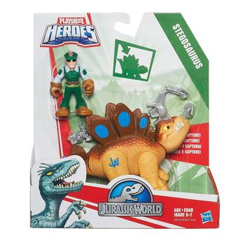 Jurassic World STEGOSAURUS Dinosaur and Tracker Figure