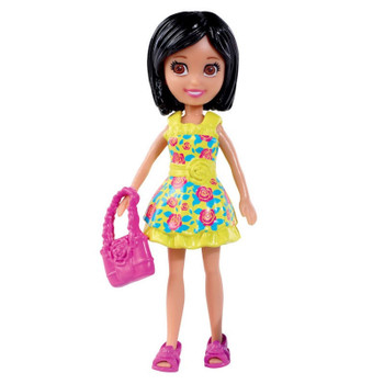 Polly Pocket Floral Fashion CRISSY 9.5 cm Doll and Accessory