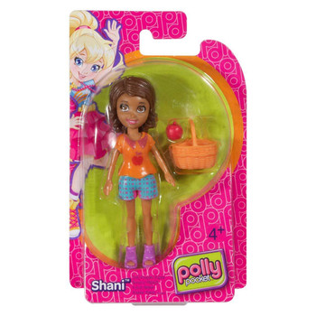 Polly Pocket Fruit Fashion SHANI 9.5 cm Doll and Accessory