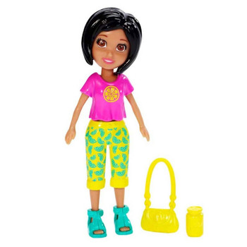 Polly Pocket Fruit Fashion CRISSY 9.5 cm Doll and Accessory
