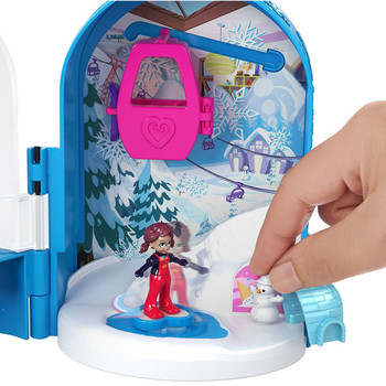 Polly Pocket Big Pocket World SNOWBALL SURPRISE Compact