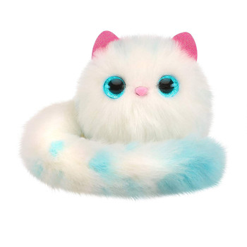 Pomsies SNOWBALL Lovable Wearable Pom-Pom Pet