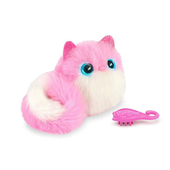 Pomsies PINKY Lovable Wearable Pom-Pom Pet