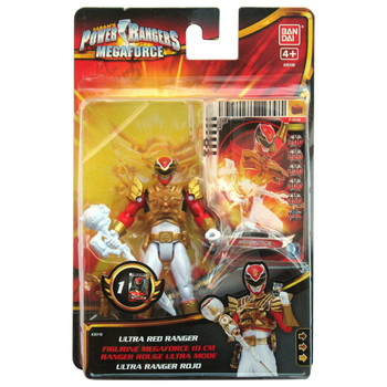 Power Rangers Megaforce ULTRA RED RANGER 10 cm Action Figure